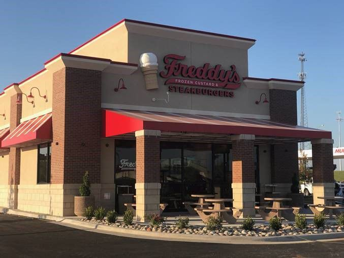 Freddy's Frozen Custard and Steakburgers opens in Ozark July 18. The restaurant is located at 1915 W. Marler Ln. in front of Walmart. The fast, casual restaurant concept operates two existing locations in Springfield and is slated to open a third Springfield location at 2305 N. Glenstone this summer.