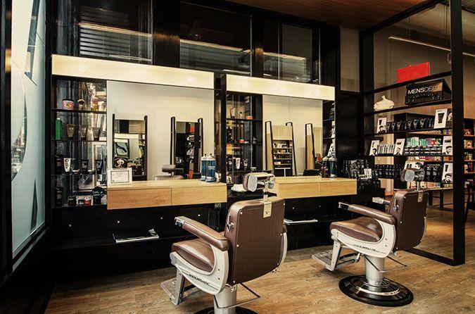 barbershop ideas salon inspiration modern barber shop salon barber ...