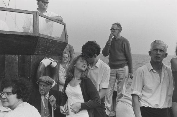 Beachy Head boat trip, 1967 by Tony Ray-Jones