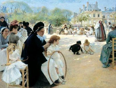 Albert Gustaf Edelfelt Storia della pittura attraverso i francobolli 1854-1936