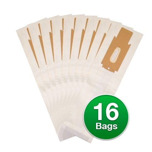 EnviroCare 713 Replacement Micro Filtration Vacuum Cleaner Bags For Oreck Type CC Vacuums - 16 Bags