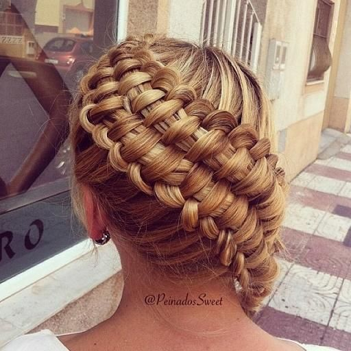 Zipper Braid - Hairstyles How To-- This is cool looking.  I would love to learn how to do this.