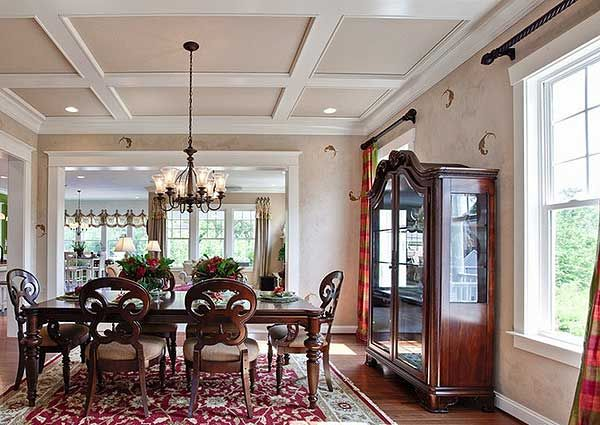 Ceiling Medallions. Dining Room View #2 Part 50