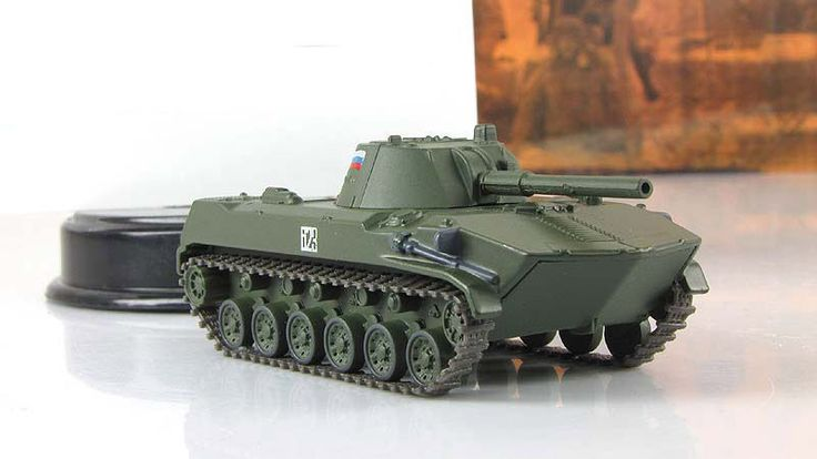"1:72 2S9 Nona-S 120 mm amphibious vehicle mod & mag № 59 ""Russian Tanks"" #GeFabbri"