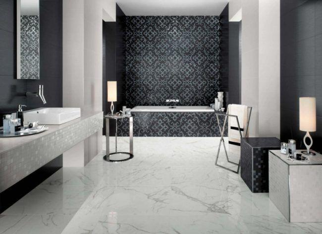 Die besten 25+ Schwarzes marmor badezimmer Ideen auf Pinterest - badezimmer aus alt mach neu