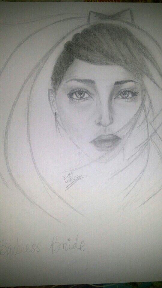 Sadness Beauty Bride, made by myself, Hope u like it
