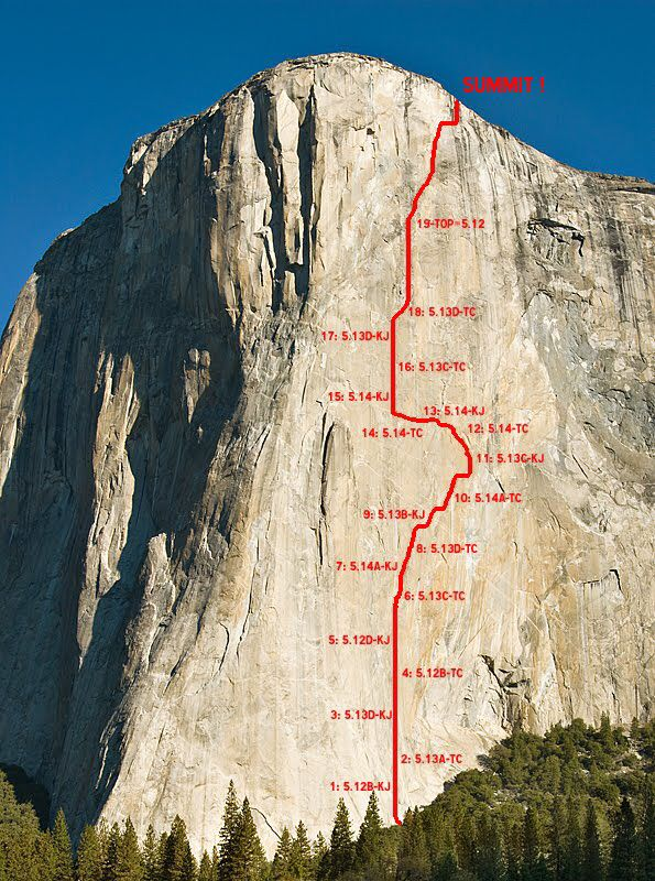 Best Climbing Big Wall Images On Pinterest Mountains - Two climbers scale 3000ft hardest route world