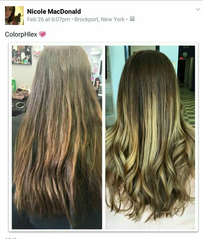 Another grateful #hairdresser - join our family of users on Facebook. #colorpHlex before and after