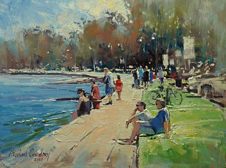 Michael Cawdrey - Sunday At Cabbage Tree Creek