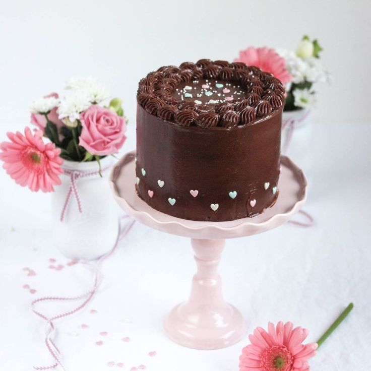Nutella Birthday Cake - with a little surprise inside