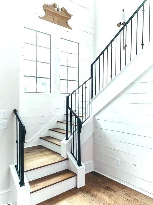 Best Farmhouse Stair Railing Farmhouse Staircase Railings 400 x 300