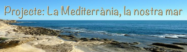 Projecte la mar Mediterrània, és tracta d'un projecte per a endinsar-se al treball per projectes des de diferents àrees i nivells.