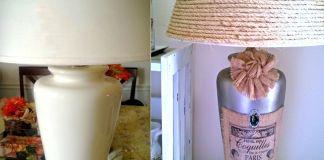 Stile shabby chic fai-da-te: recupera una vecchia lampada