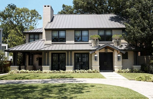 35 best metal roofs images on pinterest metal roof for Craftsman roofing