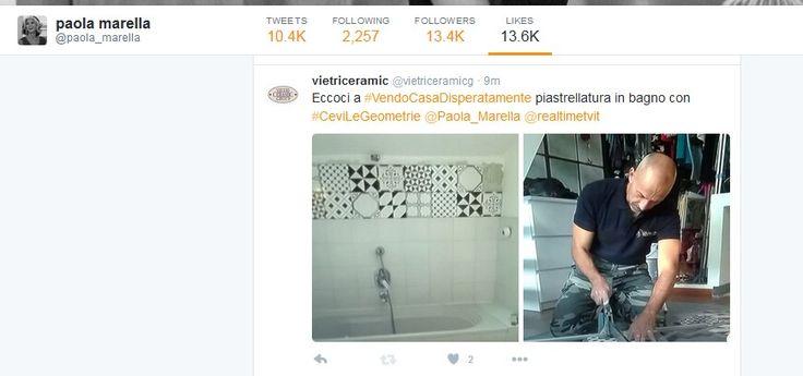 #CeviLeGeometrie su #Real Time con #PaolaMarella