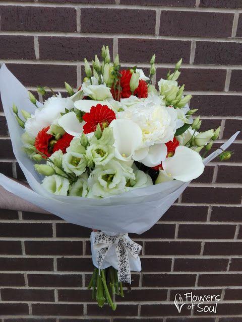 Flowers of Soul: Buchete deosebite, in culori pastelate si flori delicate