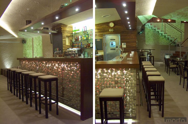 BÁNYA café & bar, Szombathely, Hungary / interior design, 2004