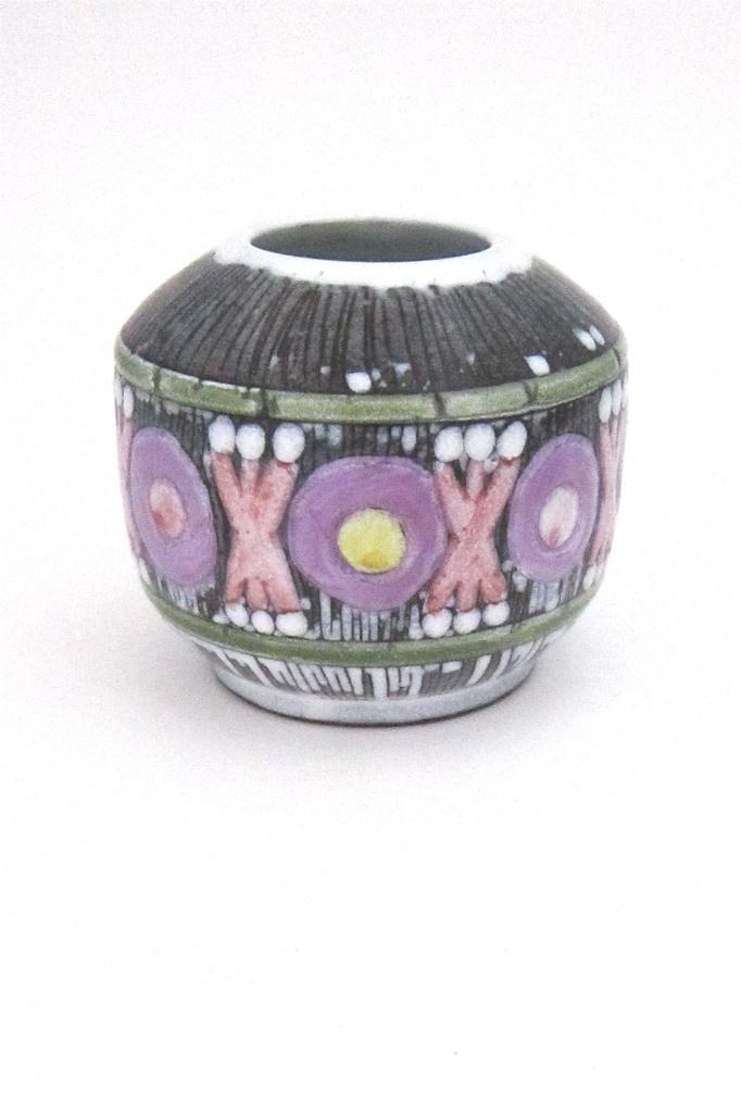 Laholm, Sweden vintage ceramic vase