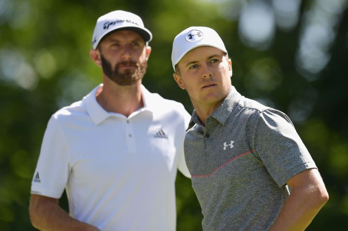 Dustin Johnson blows away his superstar playing partners Jordan Spieth Justin Thomas in Boston