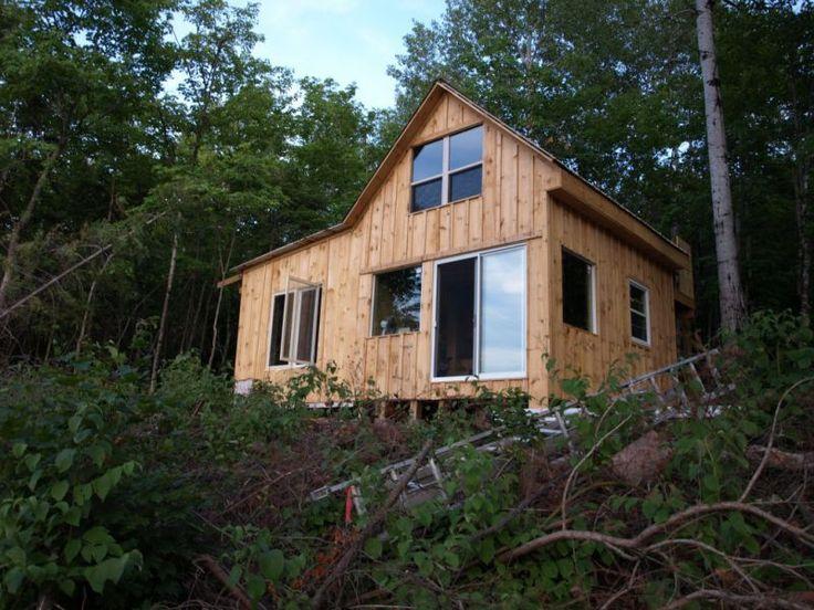 Board And Batten Cabin Board And Batten Siding Small Cabin Forum Dream House Exterior