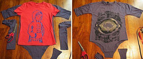 Keep Calm & Do It Yourself: DIY T-Shirt Body Suit