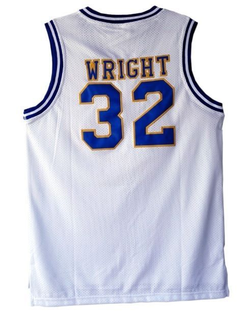 Monica Wright Jersey 32 Basketball Movie Crenshaw Love and Basketball White Sewn #Unbranded #HighSchool