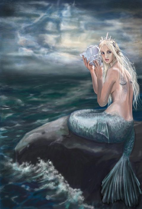 Images de sirènes / Images of mermaids | Le Coffre de Casea