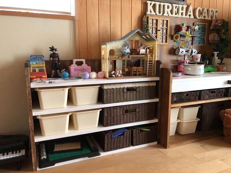 ワンバイ材で低コスト!ナチュラルなおもちゃ収納棚をDIY|LIMIA (リミア)