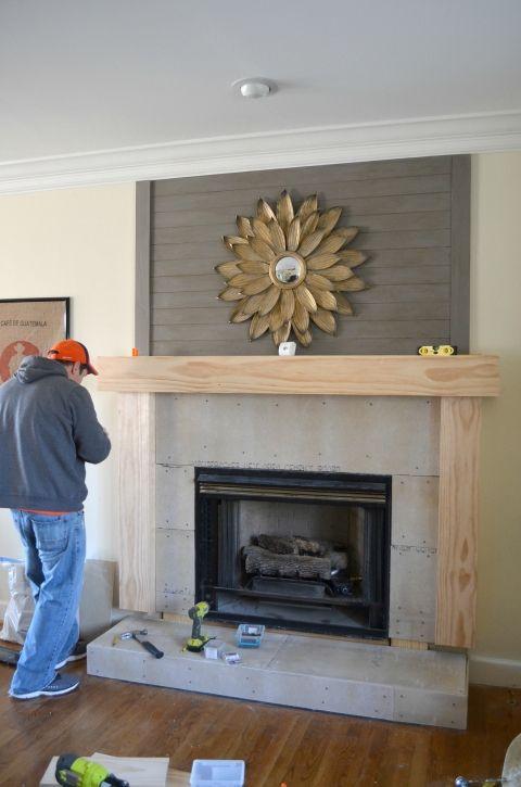 Diy Fireplace Makeover Diy Fireplace Home Fireplace