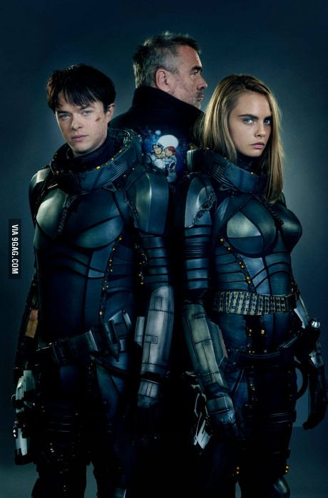 First look of Valerian by The fifth element director, Luc Besson