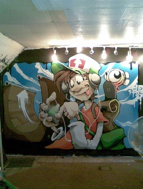 Beyond banksy project cheo bristol uk for Graffitis y murales callejeros