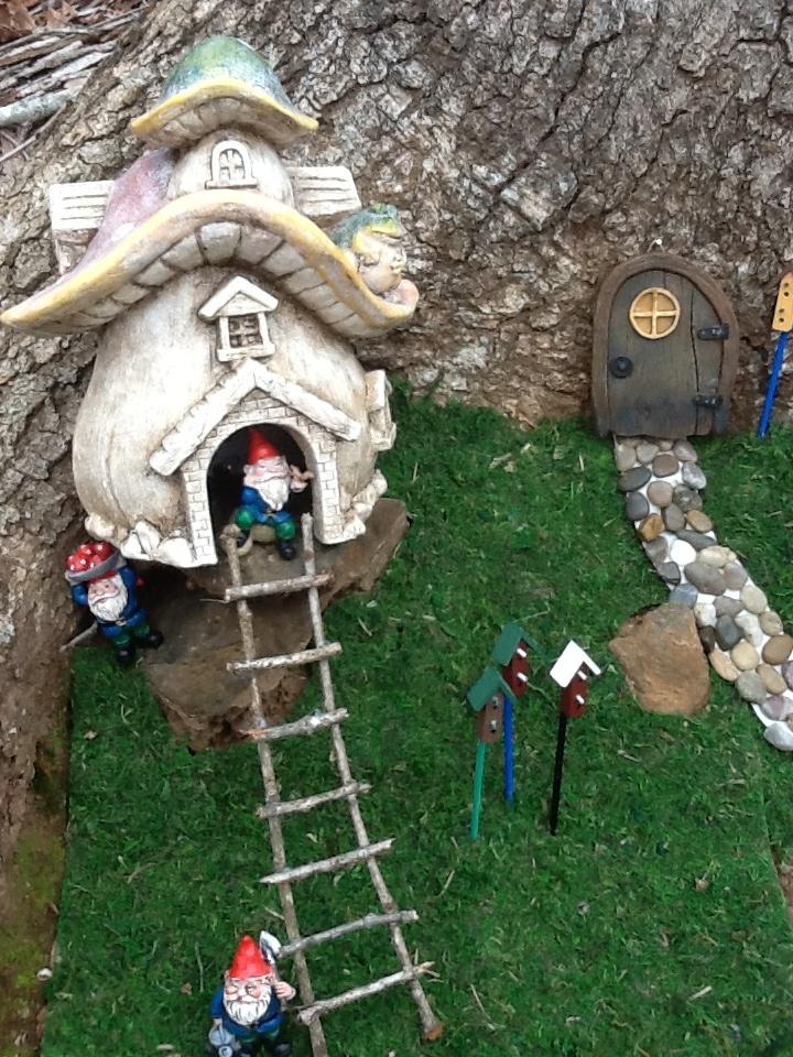 Gnome Garden: 575 Best Images About Miniature Garden On Pinterest