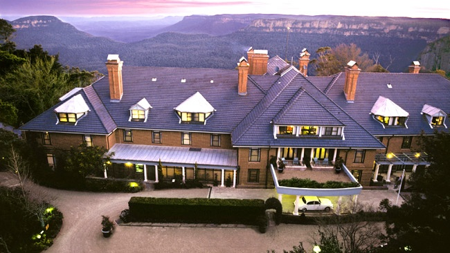 Lilianfels Resort in Katoomba. My favourite place in Australia