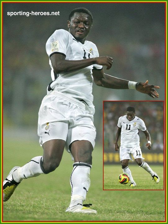 Sulley Muntari - Ghana - African Cup of Nations 2008.