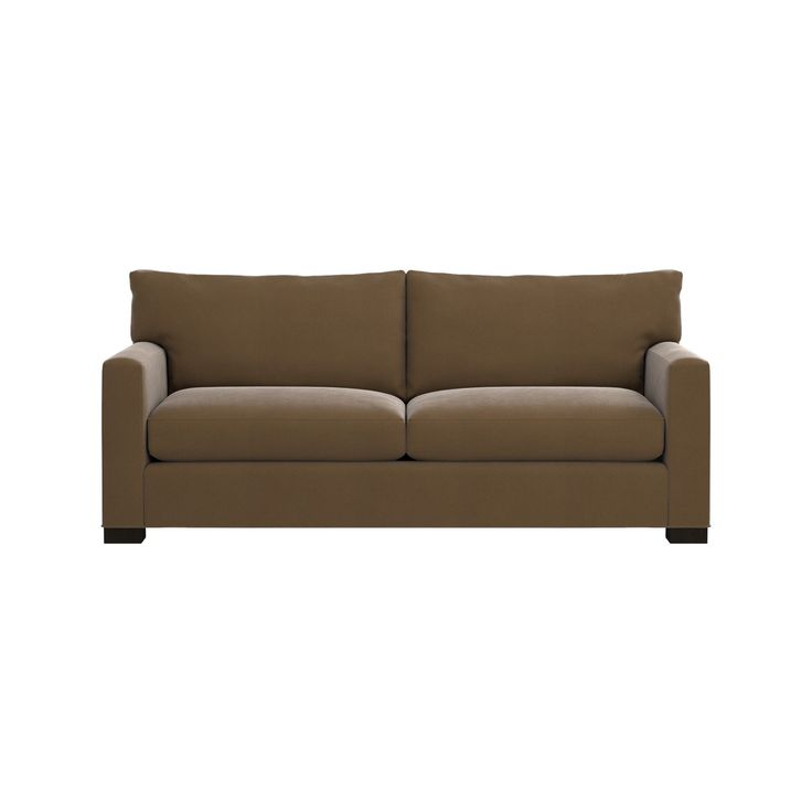 Crate and barrel loveseat sofa bed