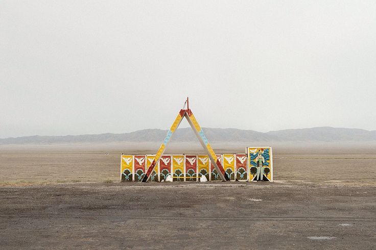 Chris Herwig - Soviet bus stops - Kazakhstan