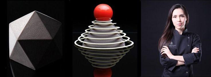 Aço, betão, vidro e formas geométricas são a fonte de inspiração dos bolos de Dinara Kasko. Esta arquita e chefe de pastelaria casa a ciência dos números com a inspiração confeiteira. O resultado são bolos com formas geométricas perfeitas. Tudo é comestível
