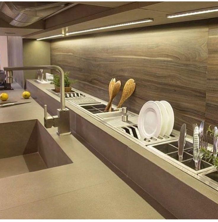 M s de 25 ideas incre bles sobre fregaderos de cocina en for Manerales para tarja