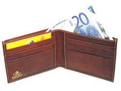 MEN'S LEATHER WALLETS MADE IN ITALY