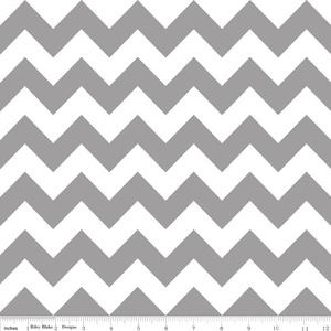 Chevron in Gray - Riley Blake Designs