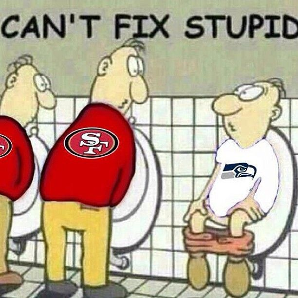49ers Funny Cartoons | 49ers_cartoon_takes_jab_at_seahawks_fans