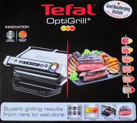 A Glug of Oil: Tefal Optigrill - Bacon Wrapped Chicken with Pineapple Pepper and Chilli Salsa