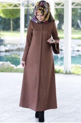 Rabia Şamlı Erva Patlı Elbise Tarçın