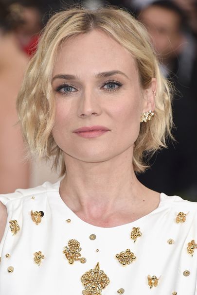 Met Gala 2017 Celebrity Beauty - Hairstyles & Makeup | Glamour UK. Diane Kruger.