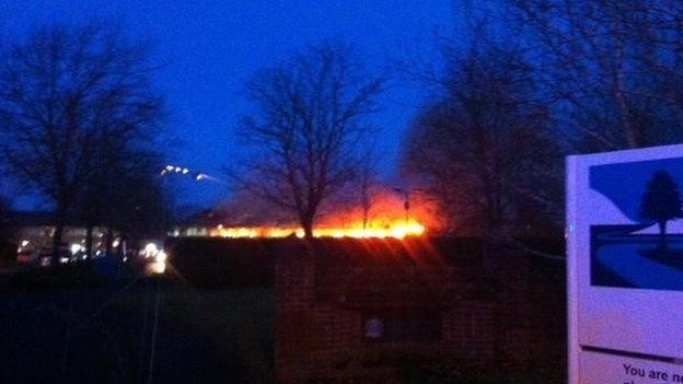 South Oxfordshire District Council fire