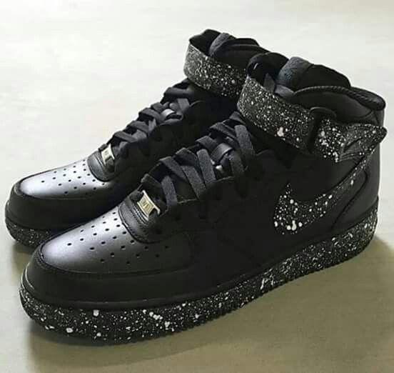 Nike Air Force ones Orea cookie high top