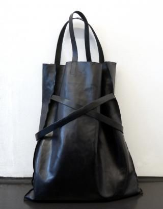 Leather Tote | Ayzit Bostan