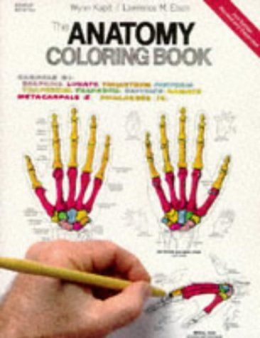 The Anatomy Coloring Book 2nd Edition By Wynn Kapit