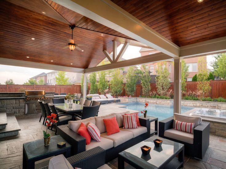 50 Stylish Covered Patio Ideas Patio Furniture Layout Patio Furnishings Stylish Patio Furniture
