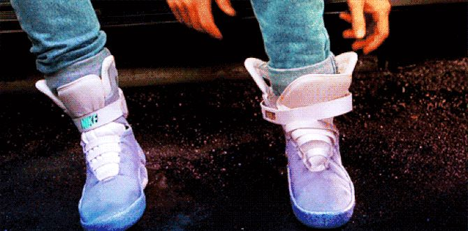 Those Self-Lacing Sneakers From Back To The Future Part II Are Becoming a Reality This Year -GQ